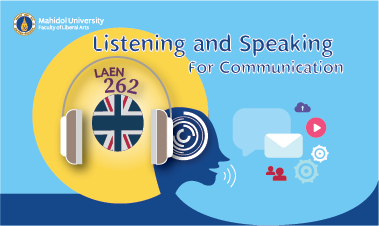 Listening and Speaking for Communication LAEN261